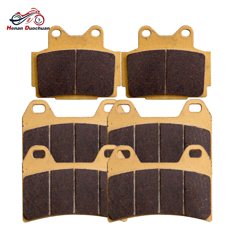 For YAMAHA FZ 400 4YR1 1996 Brake Pads Set 3pair Motorcycle Front Rear Brake Parts