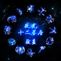 Сказочный 12 Созвездие Световой Время Драгоценные Камни ожерелье гвардии звезда Ювелирные Изделия для друга Лучшие Рождественские Подарки N0488