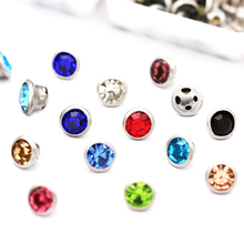 Round Shape Glass Rhinestones With Claw Sew On Crystal Stone Strass Diamond Metal Base Buckle For Clothes 2019 Summer Newest