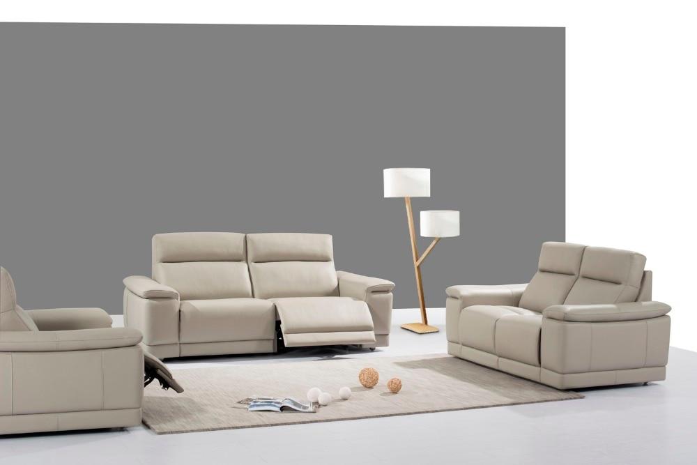 cow genuine/real leather sofa set living room sofa sectional ...