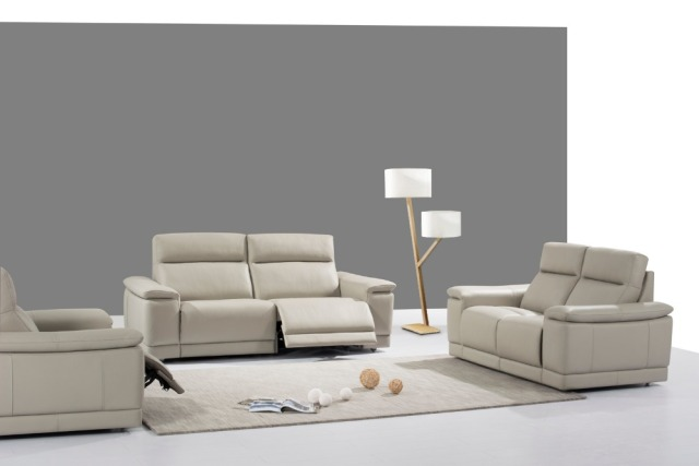 cow real/genuine leather sofa set living room sofa sectional/corner ...