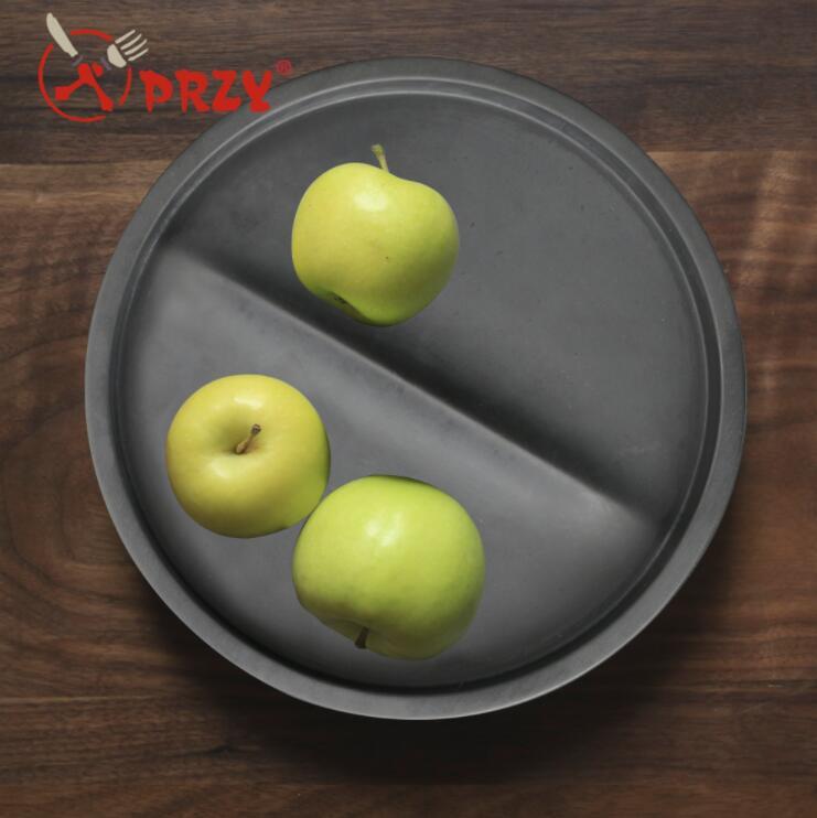 SN0037 gel de silice plat moule plaque de ciment silicone moules tasse ronde fruits plaques eau béton plat à la main résine moule