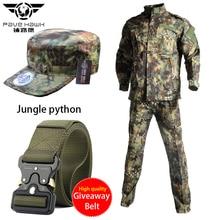 Hiking Airsfot Hunting Tactical Army Uniform Set Shirt Pants Kryptek Black Camouflage Combat Jackets Military Outdoor Clothing вытяжка со стеклом maunfeld berta 90 нержавейка прозрачное стекло