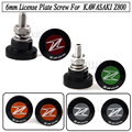 5  Pairs 6mm Rear License Screw Fender Eliminator Plate Bolt For KAWASAKI Z800