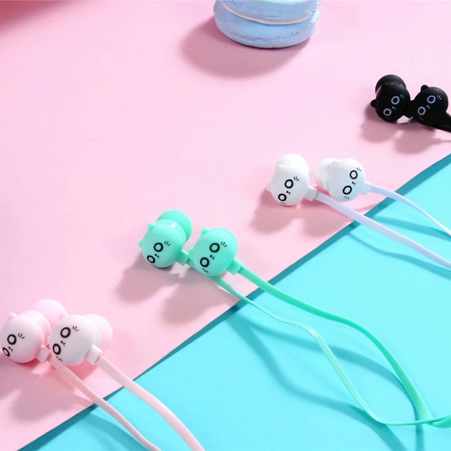 Best Cat Ear Headphones With Mic Stereo Earbuds