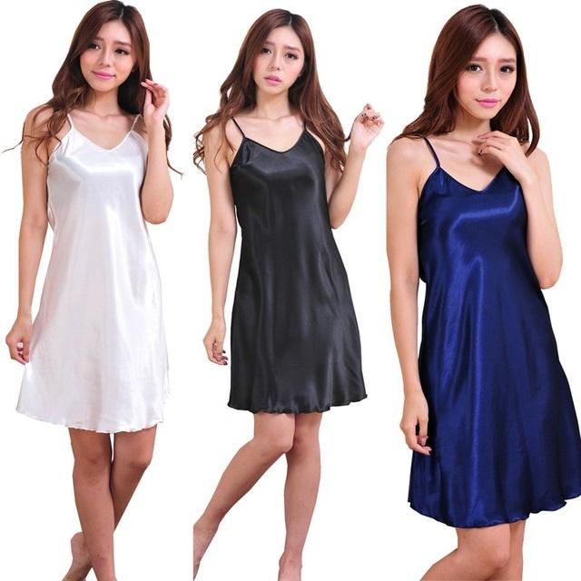 2017 Verão estilo Plus Size Rayon Mulheres Roupão Quimono de Cetim de Seda Longo Robe Sexy Lingerie Hot Pijamas