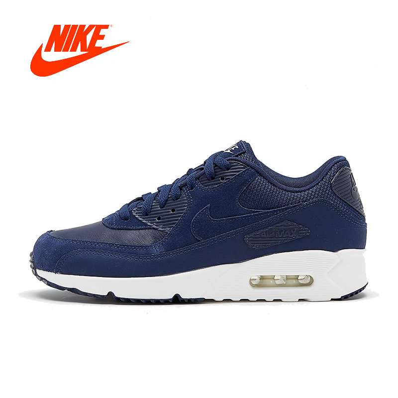 Original New Arrival Authentic Nike Air Max 90 Ultra 2.0 LTR Men s Running  Shoes Sport Outdoor Sneakers Good Quality 924447-400 059a4648bf9d5