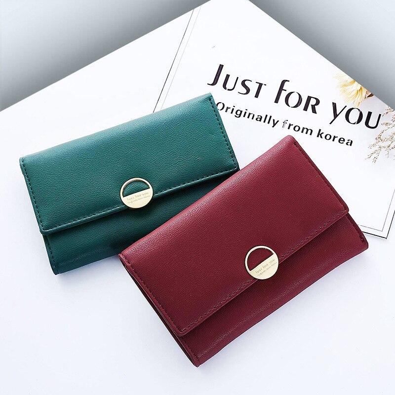 Trend All Match Women Handbags Fashion Ladies Wallets Large Capacity Card Holders Money Purse Minimalist Long Clutches (JY603-3)
