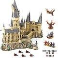 DHL 16060 Film Spielzeug Serie Die 71043 Magic Castle Schule Set Bausteine Ziegel Montage Haus Modell Kinder Weihnachten Geschenke