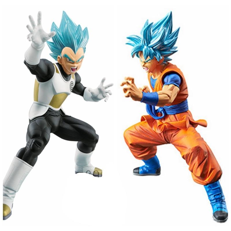 Dragonball Z Super Saiyan Son Goku Gokou Ssj Action Figure Toy Doll Brinquedos Figurals Collection Dbz Model Gift Toys & Hobbies