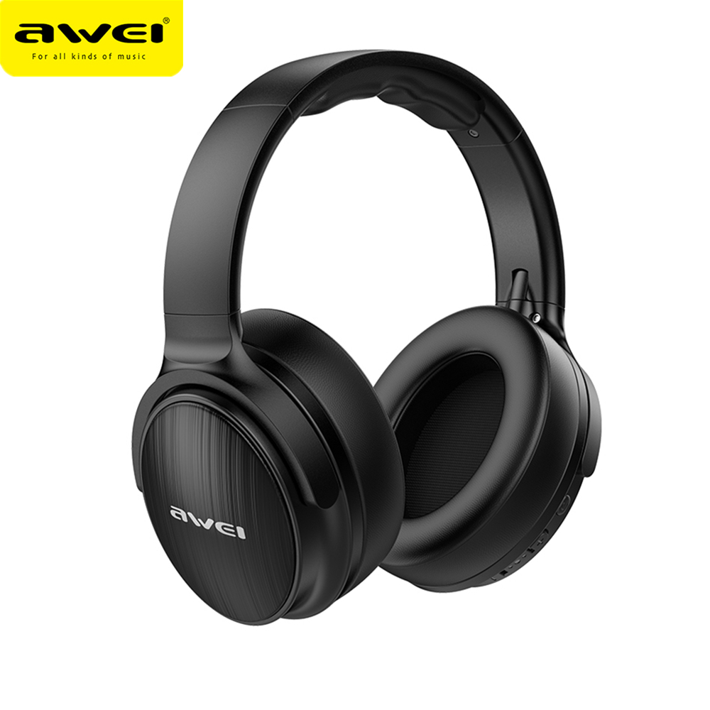 AWEI A780BL Bluetooth 5.0 Earphone Wireless Headphone With Microphone Deep Bass Gaming Headset IPX5 Waterproof With Wired Mode