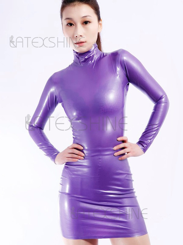Tight Purple Dress