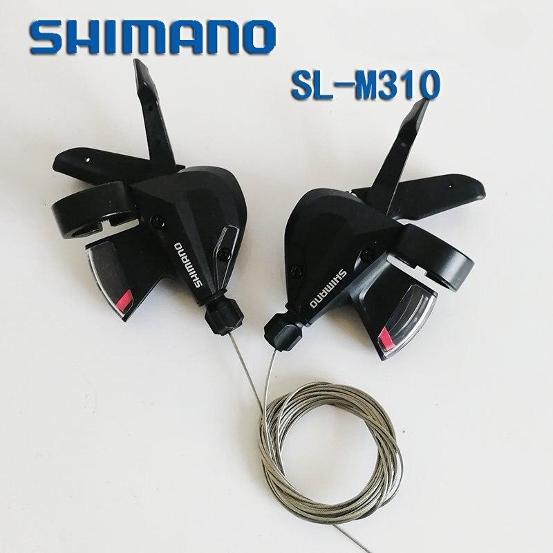 SHIMANO Altus SL-M310 3 s 8 s 24 Velocità Della Bicicletta Della Bici Shifter Trigger Set Rapidfire Più w/Shifter Cavo