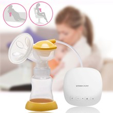 More Convenient USB BPA Free Breast Pump Powerful Nipple Suction Breast Electric Breast Pumps 2In1 Functions Pumping Milk Pump