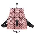 3D Алмазов Лазерной Унисекс рюкзак уникальный стиль сумка super cool мешок радуга красочные Ленты школьные сумки женщины дорожная сумка