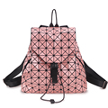 3D Diamonds Laser Unisex  backpack unique style bag super cool bag rainbow colorful Sliver school bag women travel bag