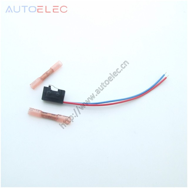 1pcs 3bd998785 left wiring harness with plastic pipe connector micro rh aliexpress com plastic wiring harness clips wiring harness plastic cover