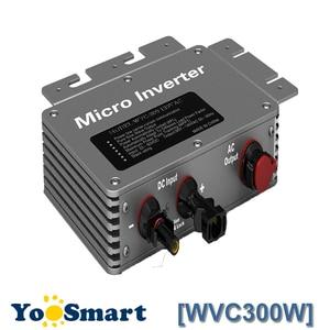 Proofwater 300 Вт 220 В микро инвертор солнечная сеточная система 22-50VDC RS232 связь MPPT Максимальная мощность функция отслеживания точки