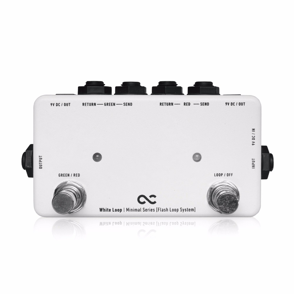 Japan One Control WHITE LOOP Guitar Effect Pedal Loop Controller Pedal Switcher golden snail 72v60v