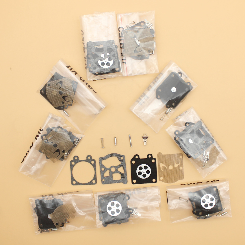 10Pcs/lot Carburetor Carb Kit Fit STIHL 021 023 025 MS210 MS230 MS250 Partner 350 351 370 371 420 Walbro 33-29 Chainsaw Parts