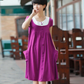 Clothes For Pregnant Women Maternity Clothing Summer Short-Sleeve Thin Maternity Dress Cotton Casual One-Piece Dress Full Dress