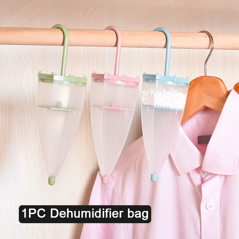 Dehumidifier 4 Colors Indoor Umbrella Desiccant Hygroscopic Box Drying Agent Home Multifunctional Keeping Dry Moistureproof Bag