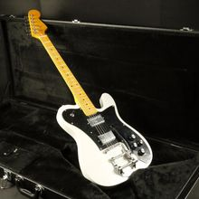 цены High quality white bigsby bridge tele electric guitar  hh pickups  tele guitar free shipping