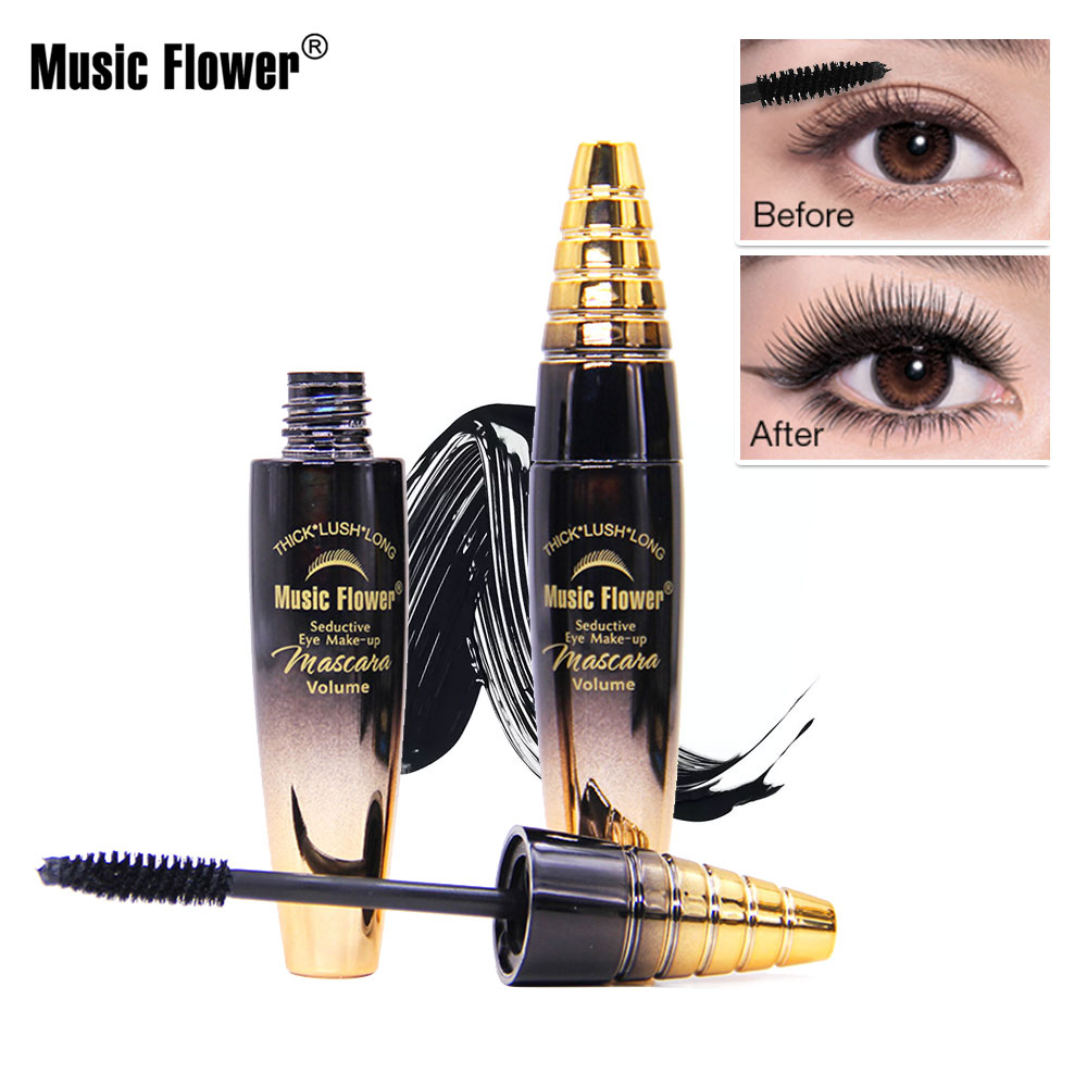 2018 Eye Mascara 3D Fiber Mascara Long Black Lash Eyelash ...