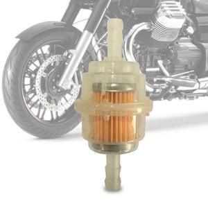 Image 1 - Benzin In Linie Universal Klar Kraftstoff Filter Motorrad Klar Gas Kraftstoff Filter Offroad Motorrad Filter