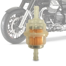 Petrol In Line Universal Clear Fuel Filters Motorcycle Clear Gas Fuel Filter Offroad Motorbike Filters
