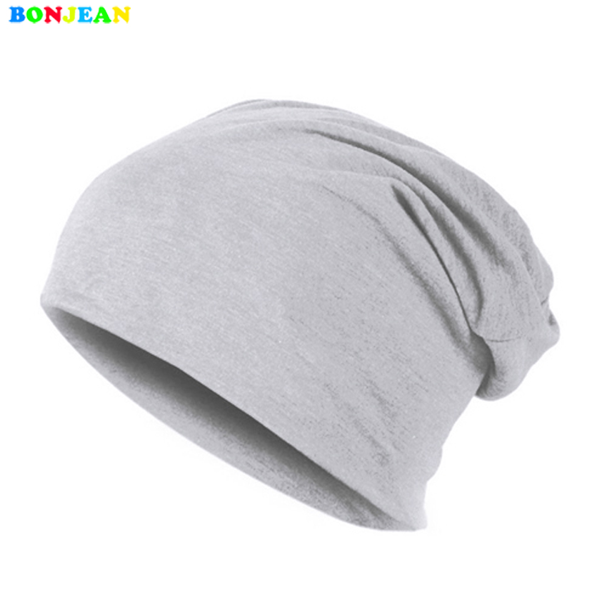 где купить BONJEAN Women Men Unisex Knitted Winter Cap Casual Beanies Solid Color Hip-hop Snap Slouch Skullies Bonnet beanie Hat Gorro по лучшей цене