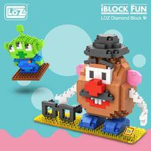 LOZ diamentowe klocki plastikowe klocki dzieci dzieci prezent edukacyjne zabawki model z kreskówki edukacyjne Diy Building Figure 9505
