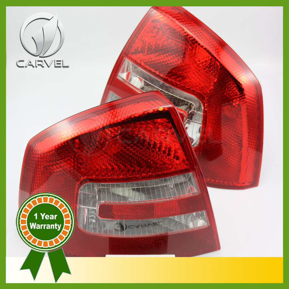 Free Shipping For Skoda Octavia Sedan A5 2005 2006 2007 2008 Pair Of Rear Lamp Tail Light free shipping for skoda octavia sedan a5 2005 2006 2007 2008 right side rear lamp tail light