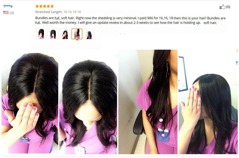Malaysian Hair 4 Bundles Deal