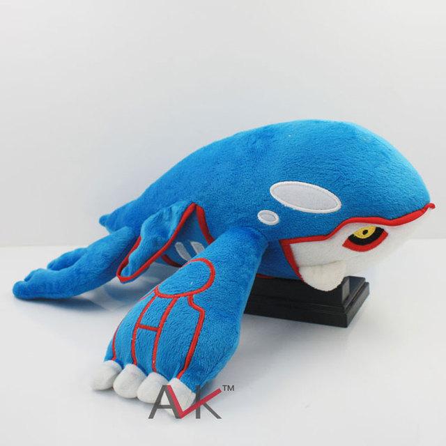 """Nuevo Pokemon peluches 14.5 """" 37 cm Kyogre suave peluche muñeca bebé de juguete de regalo de la historieta para los niños"""