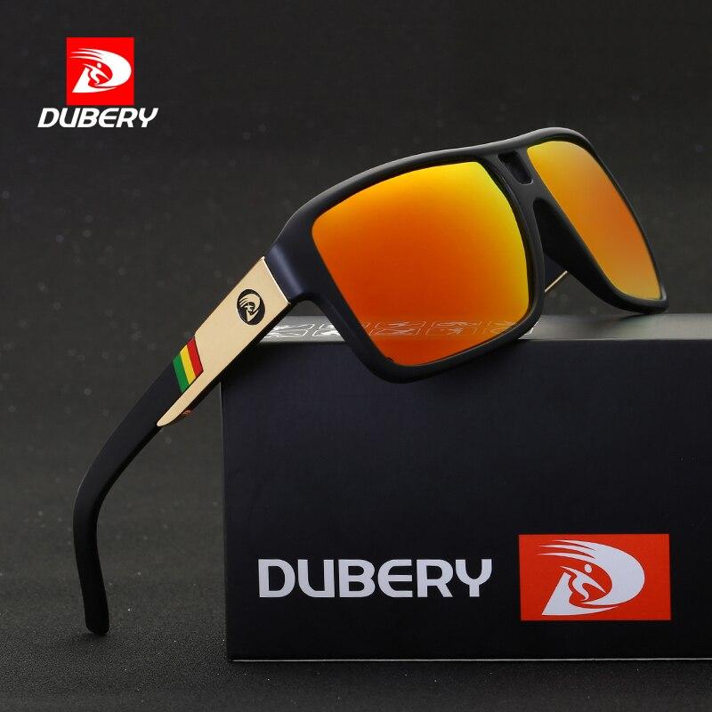DUBERY Aviação Dos Homens Óculos Polarizados Condução Óculos de Sol Das Mulheres Dos Homens Do Esporte de Pesca de Luxo Da Marca Designer Oculos UV400