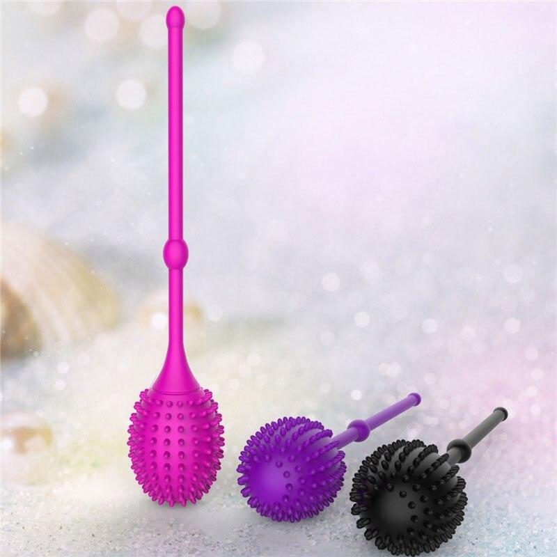 Safe Silicone Smart Ball Kegel Ball Ben Wa Ball Vagina Tighten Exercise Machine Vibrators Vaginal Geisha