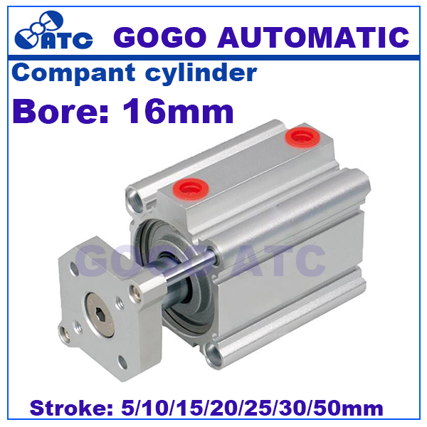 Smc Type Pneumatic Cylinder Cqmb Bore 16mm Stroke 5 10 15