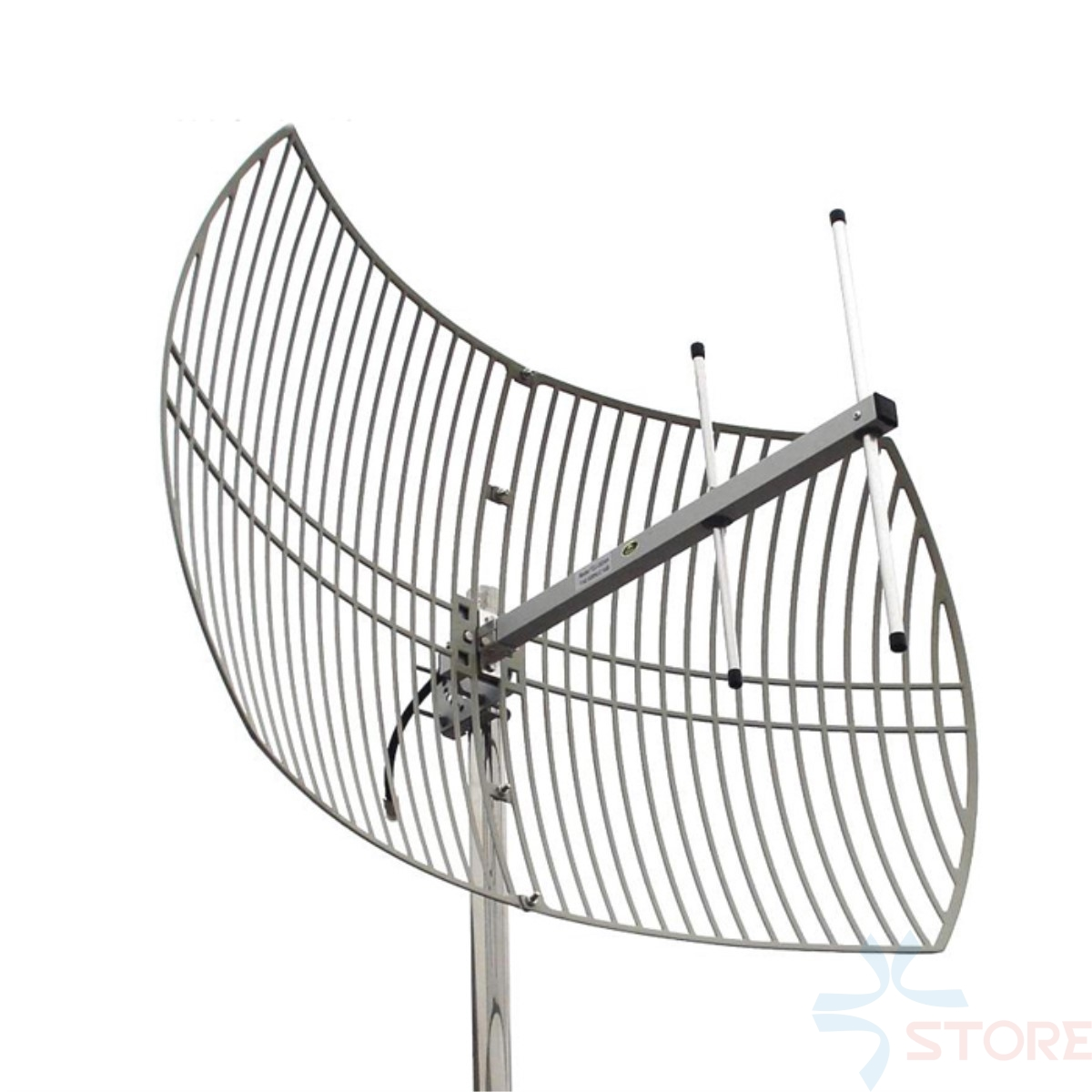 цена на 1.2G 15dBi High Gain Directional Parabolic Grid Antenna For Video Transmission FPV RC Airplane