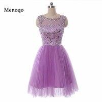 2018 Unique Design Short Cocktail Dresses Real Photos robe de soiree Sequin Tulle Gorgeous Short Homecoming Dresses Puffy