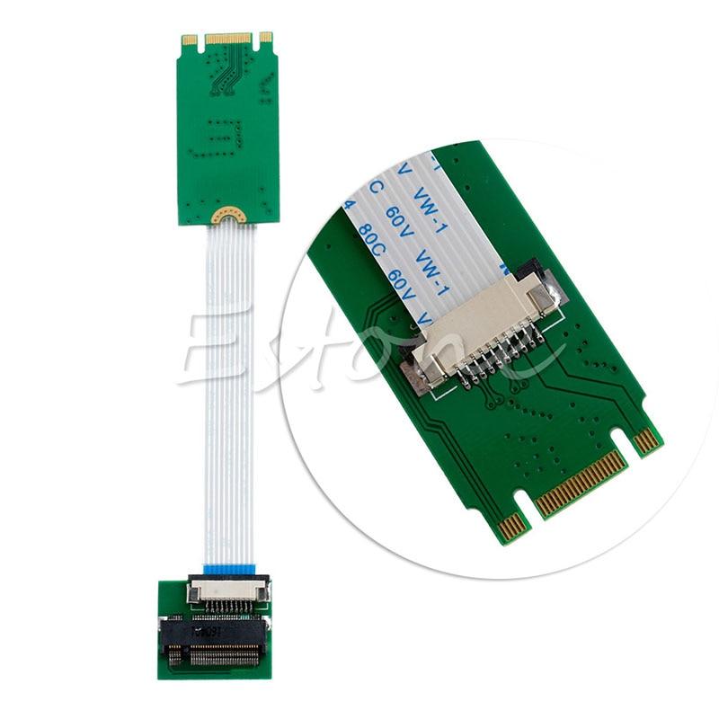 M.2 NGFF to M.2 NGFF SSD 42mm Adapter Convert Card with FFC Cable переходники ssd usb3 0 to m 2 ngff in case w cab 7009u3 espada