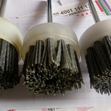 Wire-Brush Grinding-Wheel Electric-Drill Wood-Carving OD50MM New 2pc/Lot Used-On Nylon