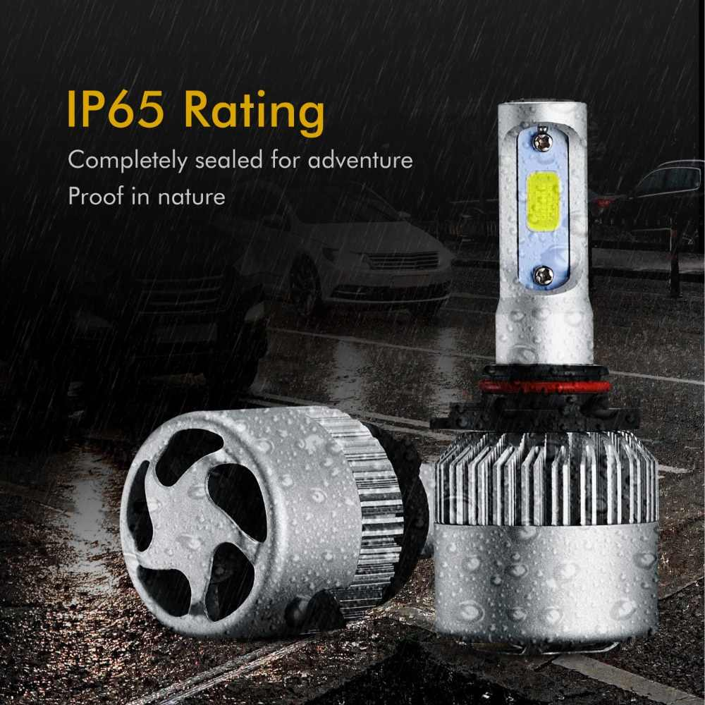Oslamp 9005 9006 LED Headlight Bulbs Hi lo 72W 8000lm Car Auto Headlamp 12v for GMC Sierra Suburban Sonoma Jimmy Safari Savana