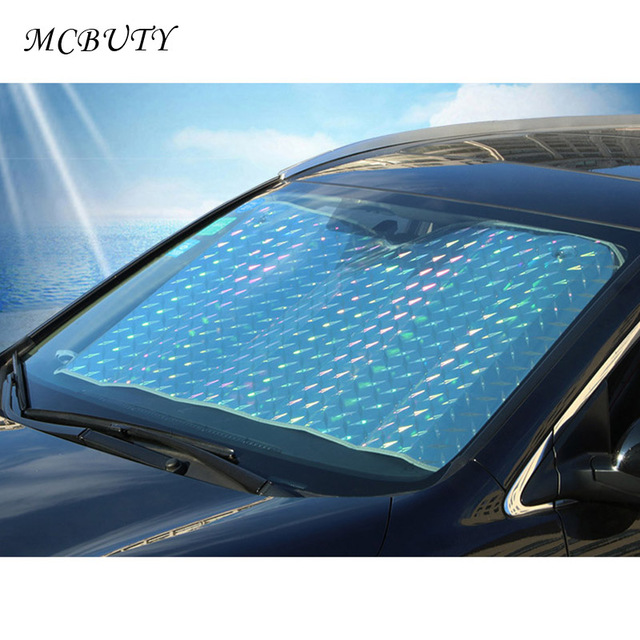 Windshield Sunshades Front Summer Shades  Extra Thick Laser Summer Sun Protection  SUV Cross-country Sun Block Sunshade carWindshield Sunshades Front Summer Shades  Extra Thick Laser Summer Sun Protection  SUV Cross-country Sun Block Sunshade car