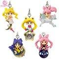 [SGDOLL] 2017 Nova Chegada Anime Sailor Moon Twinkle Dolly Parte 3 Cinta Do Telefone Charme Figura No Box 5 pçs/set frete Grátis 5803-L