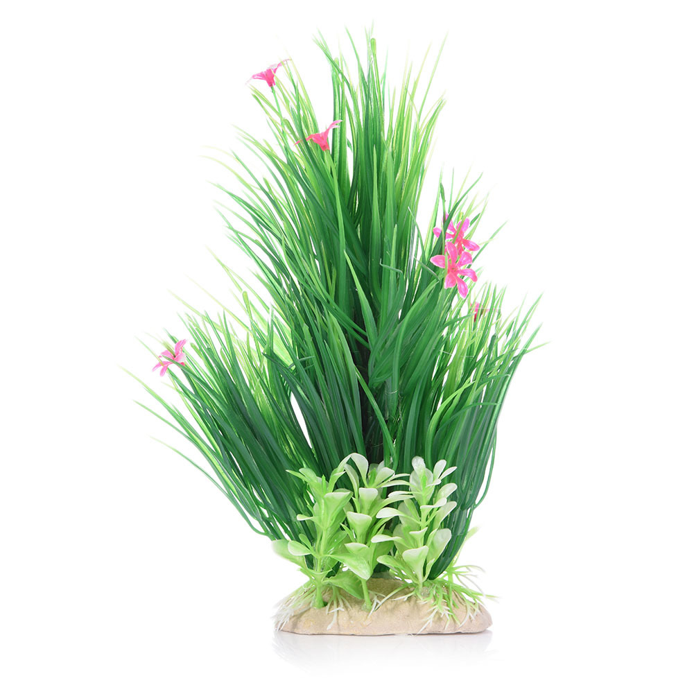 Submarine ornament artificial green underwater plant fish for Decorative plants for garden