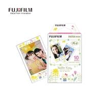 מצלמה פוג 'י מיידי Instax סרט גיליון 10 נייר Fujifilm Instax מיני 8 הלו קיטי תחרת תמונת מיני 8 7 s 25 50 s 90 מצלמת אבזר