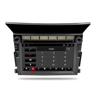 Image 5 - 8 Core أندرويد 9.0 سيارة مشغل ديفيدي الوسائط المتعددة لهوندا الطيار 2009 2010 2011 2012 راديو تلقائي 2 الدين FM لتحديد المواقع الملاحة فيديو ستيريو