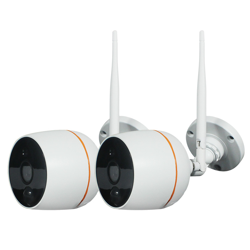 Wetrans 2pcs Lot Wifi IP Camera 1080P for Wireless CCTV Camera Kit IPKM202A to expand to