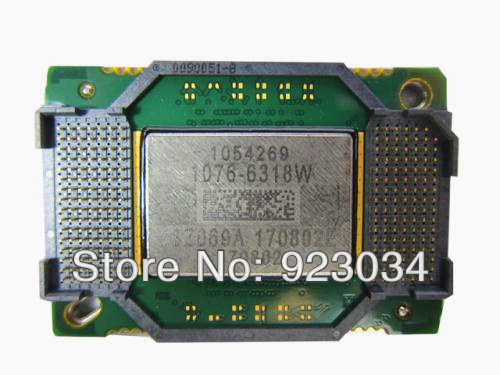 original 100 new font b Projector b font DMD chip 1076 6318W for Ben q MP622